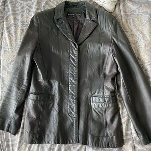Anne Klein Ladies Medium Leather Jacket